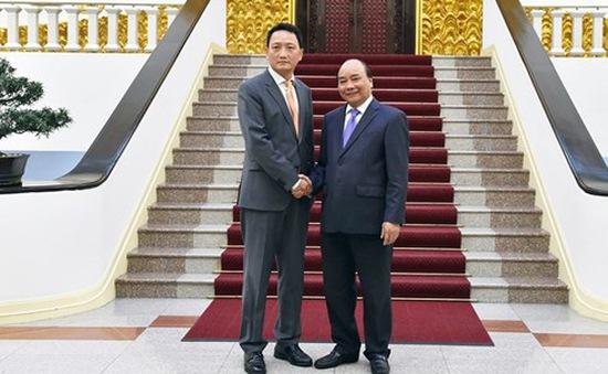 Thủ tướng tiếp tân Đại sứ Hàn Quốc tại Việt Nam