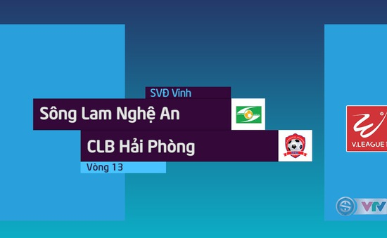 Tổng hợp diễn biến Sông Lam Nghệ An 1-0 CLB Hải Phòng (Vòng 13 Nuti Café V.League 2018)