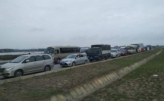 Hải Phòng phân luồng giao thông, hạn chế ùn tắc tại phà Gót