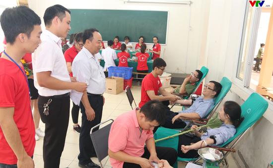 Hành Trình Đỏ 2018 đã tiếp nhận gần 1.900 đơn vị máu