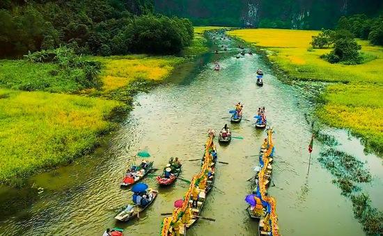 Nhanh chân đến Tam Cốc, Ninh Bình tháng 6 ngắm mùa lúa chín tuyệt đẹp