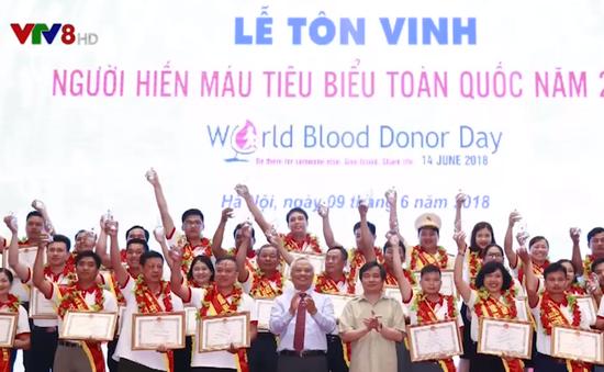 Người thầy 20 lần hiến máu tình nguyện