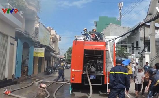 Cháy nhà do chập điện tại Phan Thiết, Bình Thuận