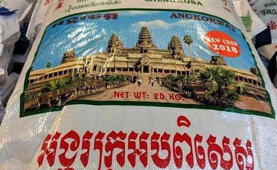 Campuchia phản đối Thái Lan bán gạo in hình đền Angkor Wat