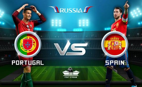 """00h00 ngày 16/6, dự đoán đội chiến thắng trận Bồ Đào Nha - Tây Ban Nha cùng """"Võ đoán"""" 2018 FIFA World Cup™"""