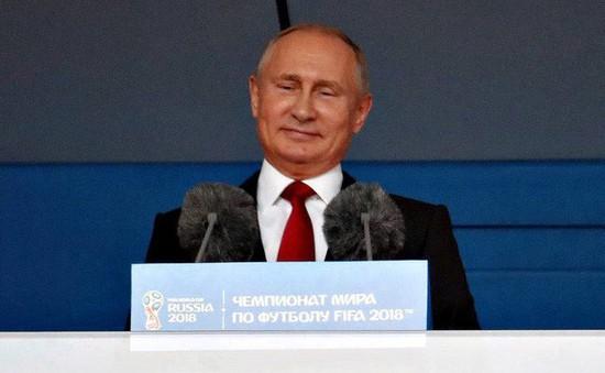 Bài phát biểu của Tổng thống Nga Vladimir Putin tại Lễ khai mạc FIFA World Cup™ 2018