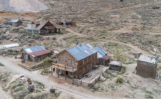 Thị trấn bỏ hoang được rao bán với giá 925.000 USD ở Mỹ