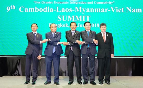 Thủ tướng Nguyễn Xuân Phúc dự hội nghị CLMV