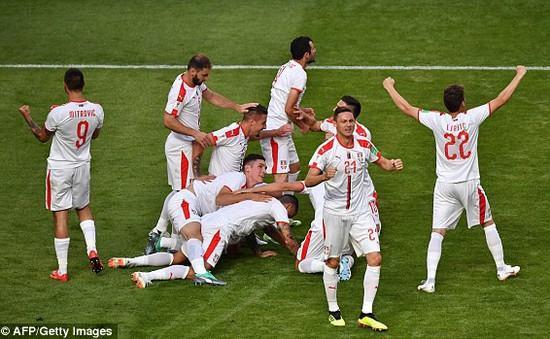 Kết quả FIFA World Cup™ 2018: Kolarov sút phạt ghi bàn, Serbia thắng tối thiểu Costa Rica