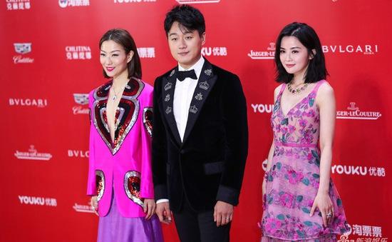 Dàn mỹ nhân muôn sắc đổ bộ thảm đỏ Liên hoan phim quốc tế Thượng Hải