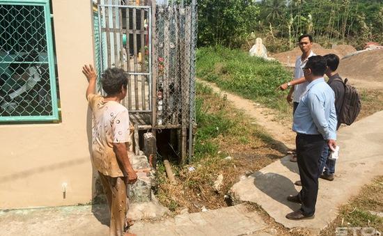 Sóc Trăng: Không có hệ thống thoát nước vẫn bị thu phí dịch vụ