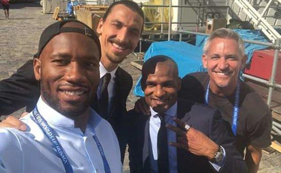 Tác nghiệp tại FIFA World Cup™ 2018, Drogba hội ngộ 3 cựu danh thủ