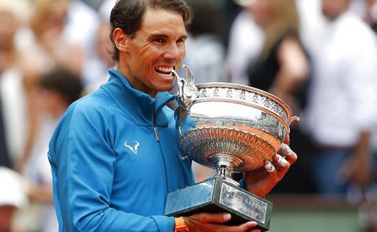 Gia tài 11 cúp vô địch của Nadal ở Roland Garros