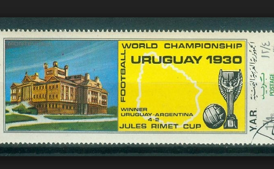 Uruguay ra mắt tem cho World Cup