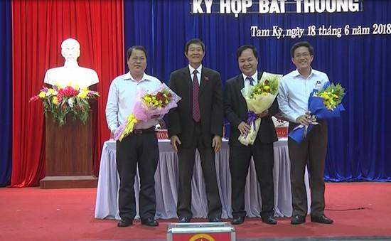 HĐND thành phố Tam Kỳ khóa 11 họp bất thường bầu Chủ tịch UBND thành phố