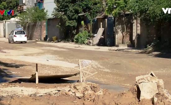 Tỉnh lộ 508 Thanh Hóa xuống cấp nghiêm trọng