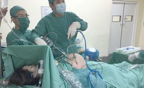 Phẫu thuật nội soi cắt ruột thừa cho thai phụ mang thai 38 tuần