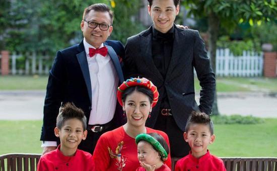 """Hà Kiều Anh: """"Gia đình tôi không bao giờ có khái niệm con chung, con riêng"""""""