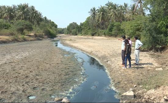 Cam Ranh: Sông Cạn ô nhiễm, nhiều diện tích nuôi trồng thủy sản bỏ hoang
