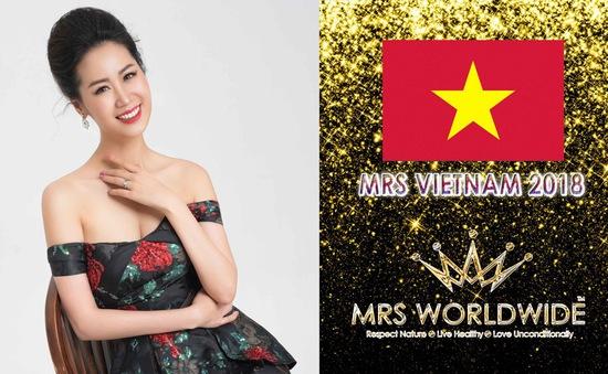 Hoa hậu Dương Thùy Linh bất ngờ đi thi Hoa hậu quý bà quốc tế