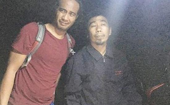 Cứu nam du khách nước ngoài bị lạc ở núi Sơn Trà, Đà Nẵng