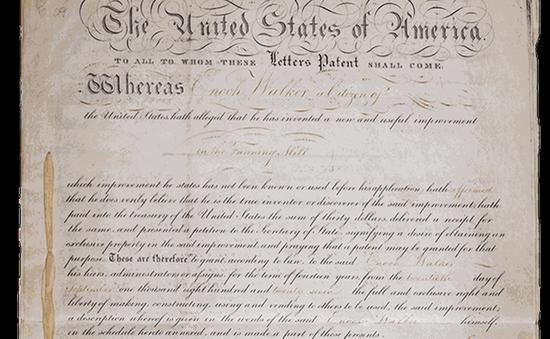 Nước Mỹ chào đón bằng sáng chế thứ 10 triệu
