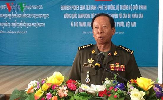Thắt chặt tình hữu nghị Việt Nam - Campuchia