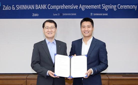 """Zalo """"bắt tay"""" cùng DN Hàn Quốc nghiên cứu ứng dụng AI vào lĩnh vực tài chính"""