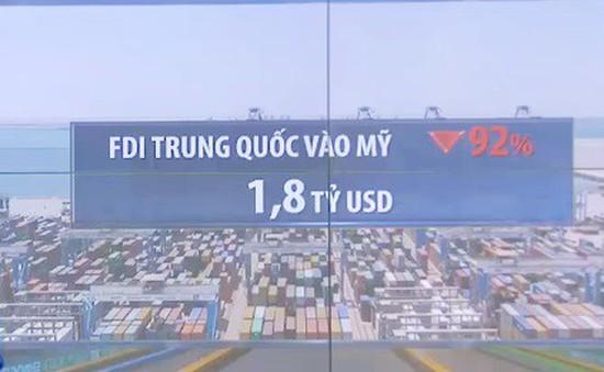 Đầu tư từ Trung Quốc vào Mỹ giảm hơn 90% trong 5 tháng