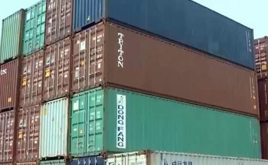Quá tải container phế liệu tại các cảng biển