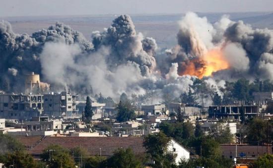 Liên quân không kích tại Syria, nhiều dân thường thiệt mạng