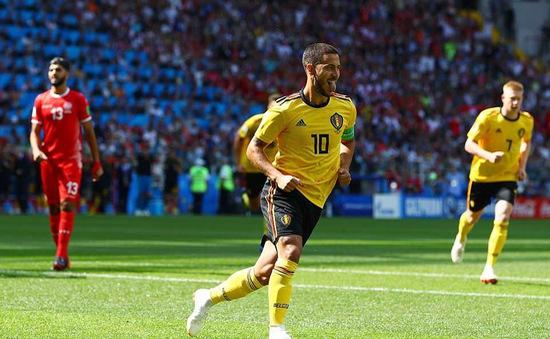 Hazard ghi bàn, FIFA World Cup™ 2018 có kỷ lục mạch trận liên tiếp có bàn thắng