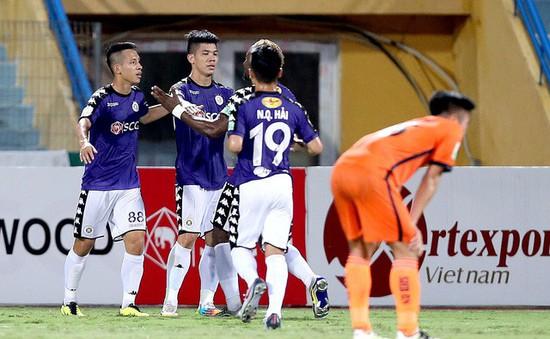 Kết quả Nuti Café V.League 2018 ngày 23/6: CLB Hà Nội thắng tưng bừng, CLB TP Hồ Chí Minh thua đáng tiếc