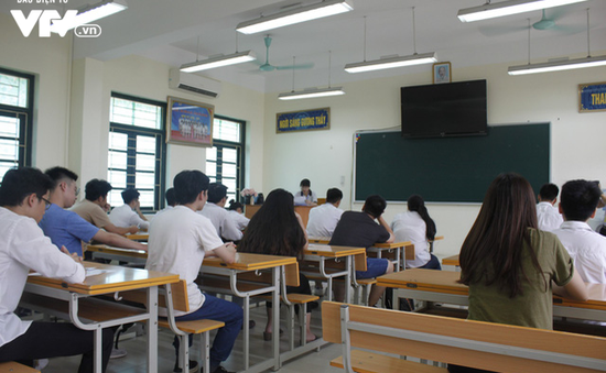Riêng môn Ngữ văn được chấm theo 2 vòng độc lập