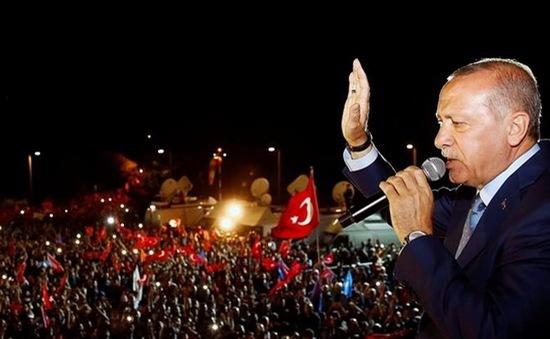 Tổng thống Thổ Nhĩ Kỳ tái đắc cử
