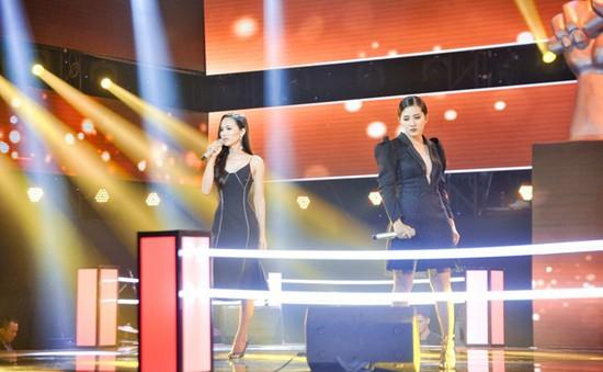 Giọng hát Việt 2018: Hoa hậu chuyển giới Hoài Sa dừng chân tại vòng Đối đầu