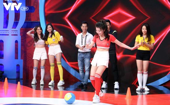 Thử thách kỹ năng chơi bóng của dàn người đẹp Nóng cùng FIFA World Cup™ 2018