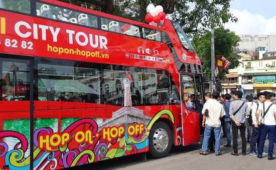 Xe bus 2 tầng mui trần ở Hà Nội có thêm giá vé mới