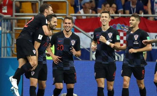 KẾT QUẢ FIFA World Cup™ 2018: Đánh bại Iceland, Croatia giành 9 điểm tuyệt đối