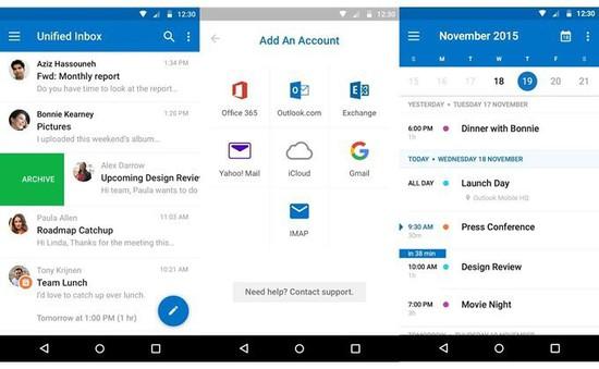 Microsoft Outlook hỗ trợ tính năng tiết kiệm dữ liệu trên Android