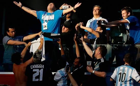 Thông tin chính thức về sức khỏe của huyền thoại Maradona