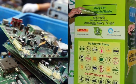 Kinh nghiệm xử lý rác thải điện tử của Singapore