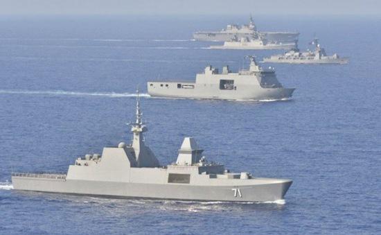 Tàu hải quân từ 25 nước đến Mỹ tập trận RIMPAC