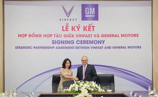 VinFast và General Motors ký hợp đồng hợp tác chiến lược tại Việt Nam