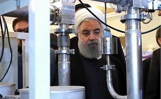 Iran mở cửa lại nhà máy sản xuất uranium