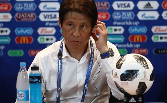 FIFA World Cup™ 2018: HLV Nishino khẳng định ĐT Nhật Bản xứng đáng đi tiếp