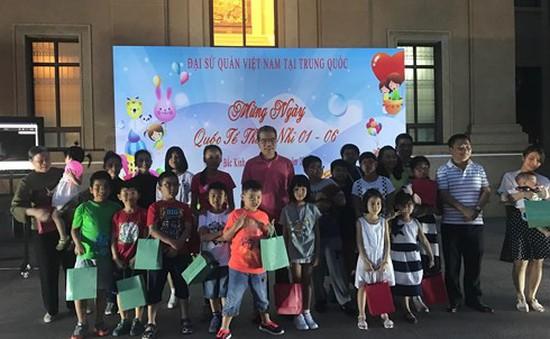 Đại sứ quán Việt Nam tại Trung Quốc tổ chức ngày Quốc tế thiếu nhi