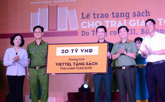 Viettel tặng 350.000 cuốn sách cho các trại giam