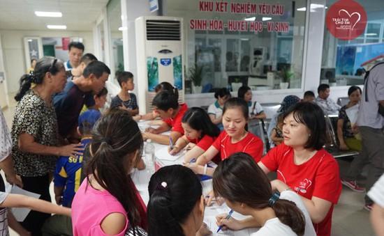 Khám sàng lọc tim bẩm sinh cho 1.750 trẻ nhỏ tại Hải Phòng