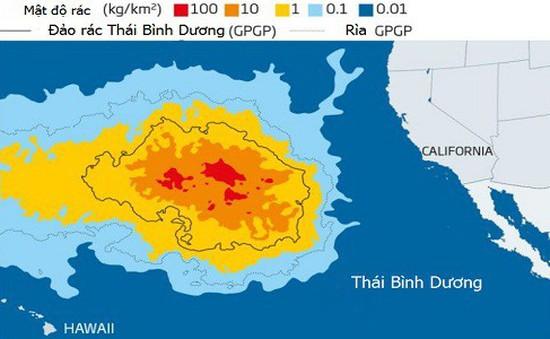 Đảo rác lớn gấp 6 lần nước Pháp